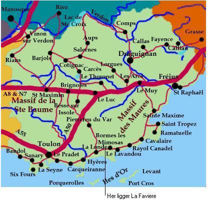 kart over provence Kart_provance